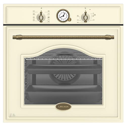 תנור בנוי לקאזה דגם LC8010RD-BEJ קרם כפרי
