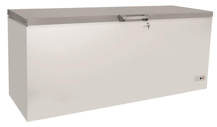 מקפיא תעשייתי שוכב דלת אחת גדולה נירוסטה מרהיבה LC-700 LACASSA