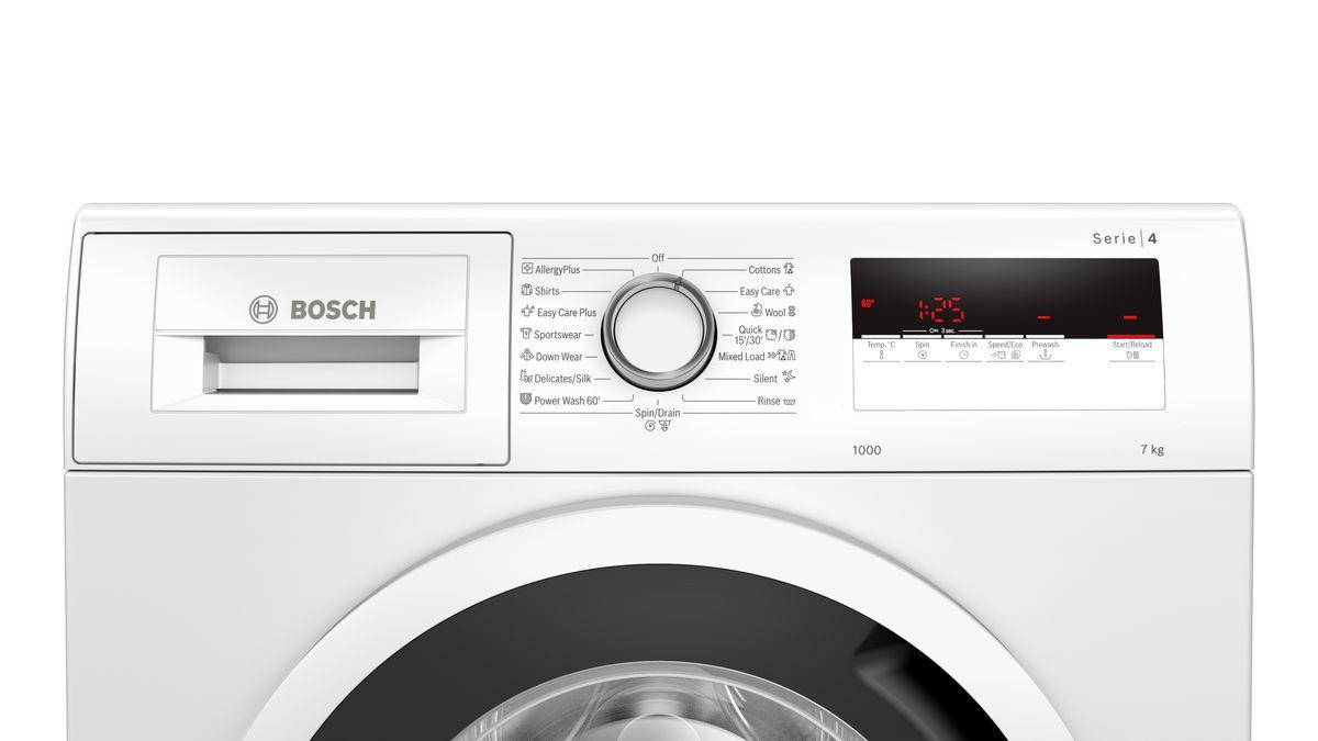 """מכונת כביסה פתח קידמי Bosch WAN20170IL 7 ק""""ג בוש"""