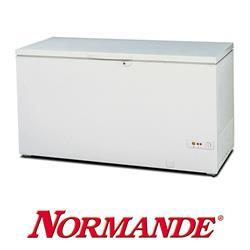 מקפיא תעשייתי נורמנדה בנפח 500 ליטר שיטת הפשרה De-Frost בצבע לבן דגם NR-550W