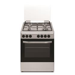 תנור משולב כיריים נירוסטה BAYERE BA6262X