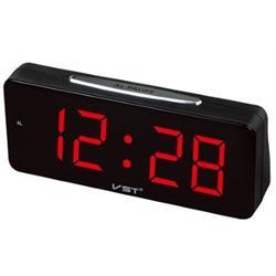 שעון שולחני חשמלי ג'מבו ספרות ענק אדום VST-731