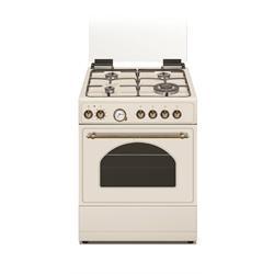 תנור לקאזה משולב דגם 6403C קרם כפרי