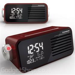 רדיו שעון מעורר משולב מקרן THOMSON CP302T