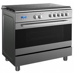 תנור אפיה עומד גריל דיגיטלי נירוסטה MIDEA 90X60 36SME5GFQ