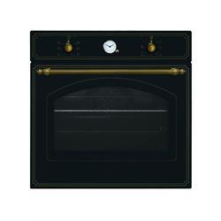 תנור לקאזה בנוי דגם 6106YERSA שחור כפרי