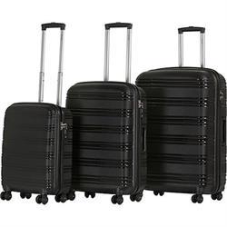 סט מזוודות קשיחות 3 יח' בגדלים 20, 24, 28 inch ובמגוון צבעים לבחירה במבצע !!
