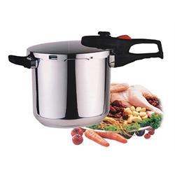 PRIZMA סיר לחץ בנפח 7 ליטר לבישול בריא ולחסכון באנרגיה