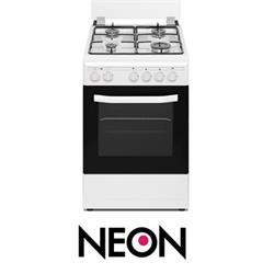 תנור משולב כיריים נאון צר 4 תוכניות דגם NE-GO 5055 NEON