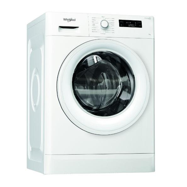 """מכונת כביסה פתח קידמי Whirlpool FWF71053W 7 ק""""ג ווירפול"""