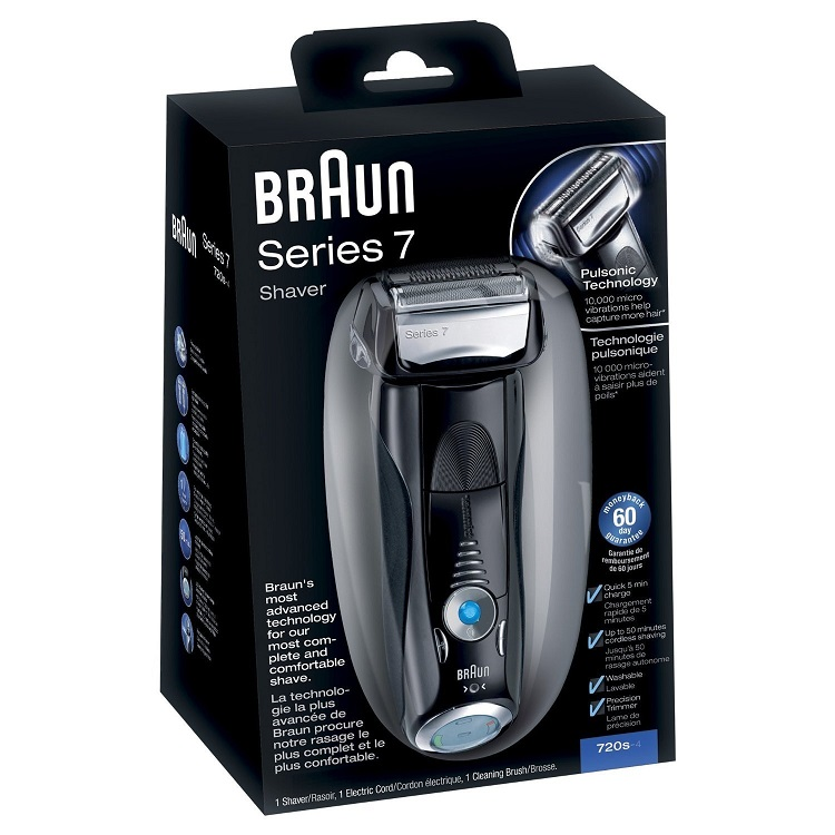 מכונת גילוח Braun 720S 7