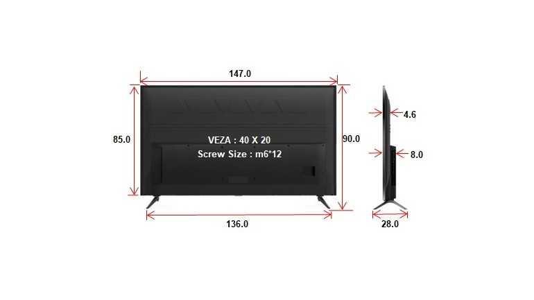 מסך TCL 4K UHD 65P8 כולל חיפוש קולי וממשק אנדרויד 9