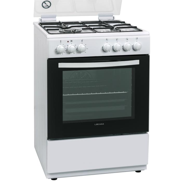 תנור משולב כיריים Lacasa LCV60W
